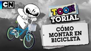 Cómo montar en Bicicleta | Toontorial | Cartoon Network