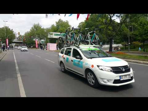 Tour of Turkey 2016 descending