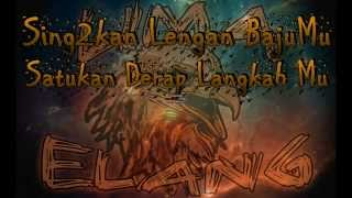 ELANG Lyrics -(Ost.Lima Elang)