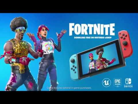 Fortnite is Available Now on Nintendo Switch