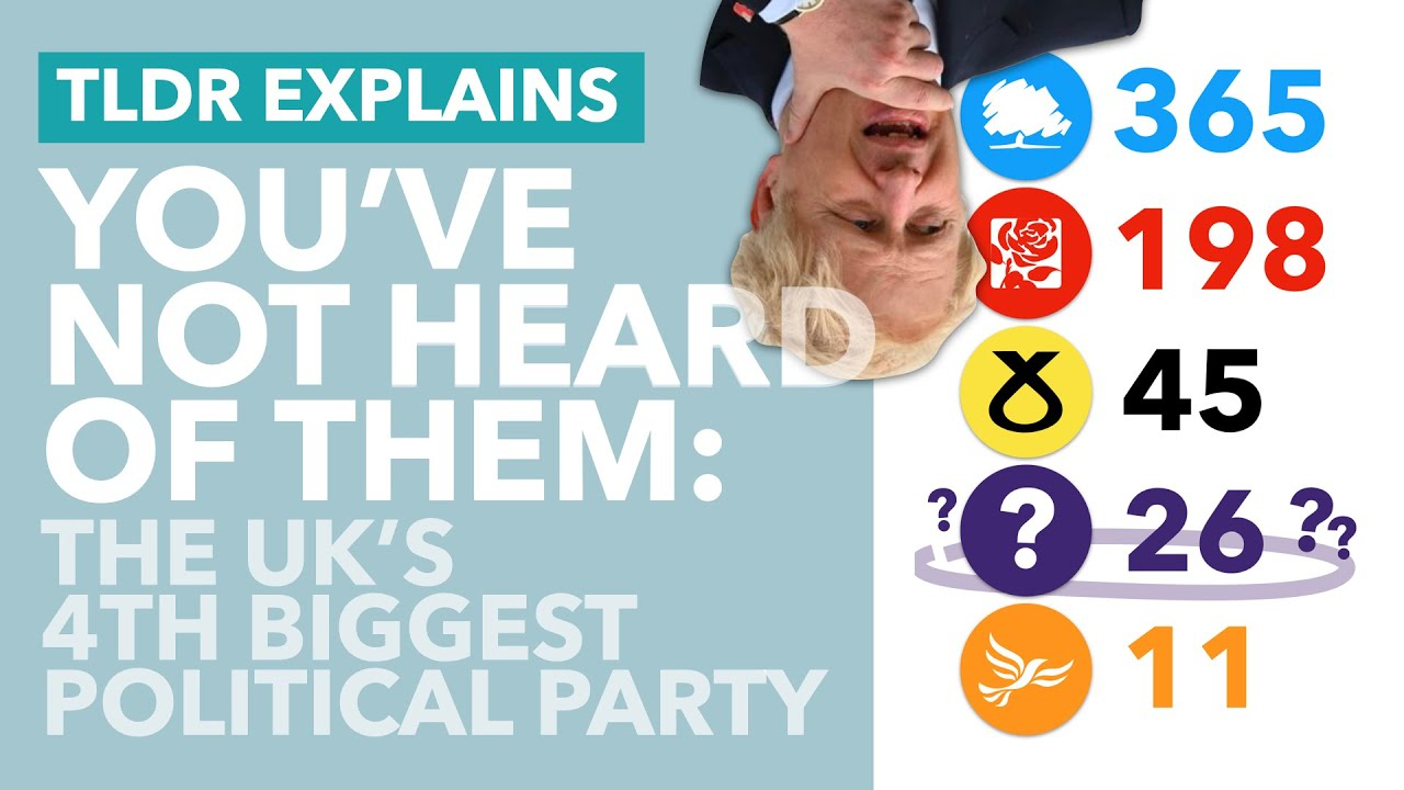 Britain's 4th Biggest Party: You've NEVER Heard of Them (Probably) - TLDR News
