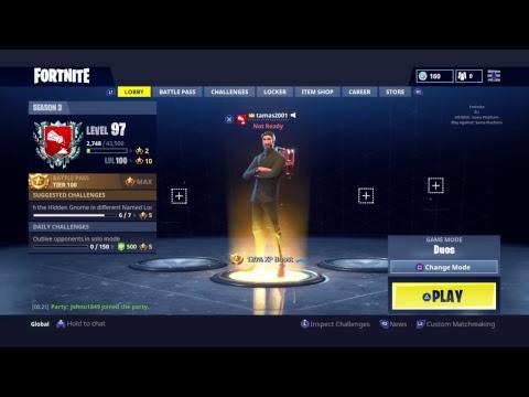 fortnite how to get custom matchmaking keys
