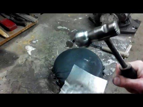 V-custom:  как сделать полусферу из металла