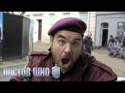 Perfect slow-motion dive - The Lie of the Land - Doctor Who: Series 10 Episode 8 - BBC One