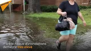 Les conséquences de l'ouragan Florence aux USA