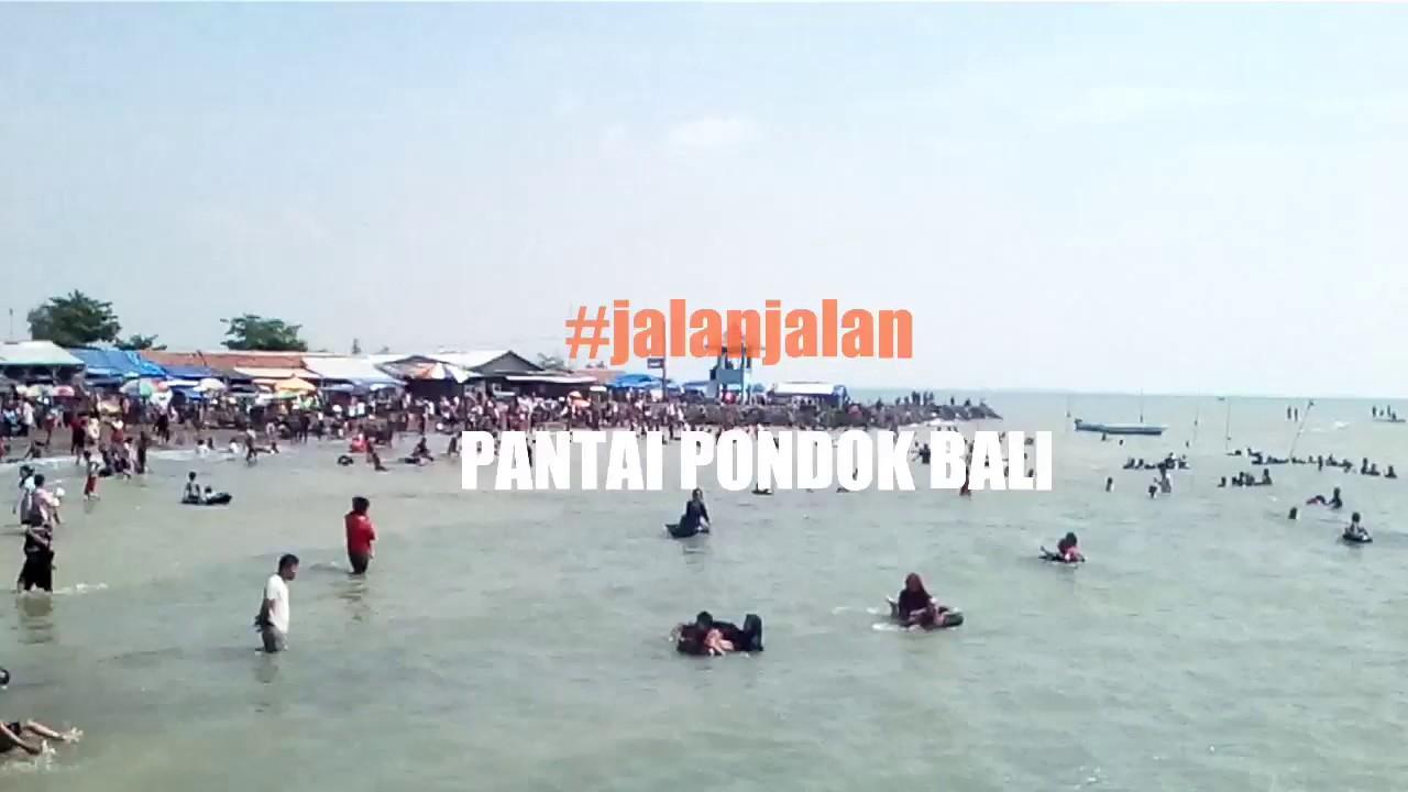 Pantai Pondok Bali   Subang Jawa Barat    Jalanjalan