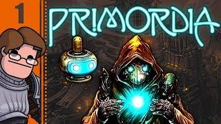 Let's Play Primordia Part 1 - Gospel of Man