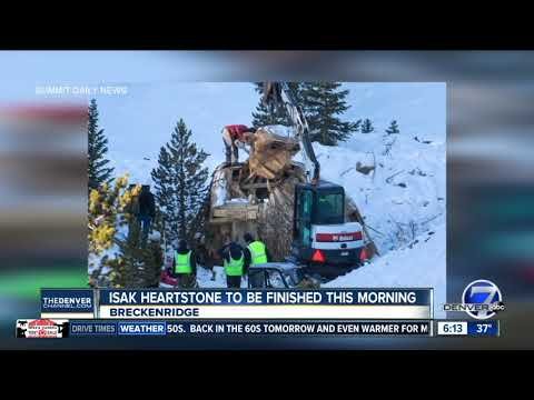 Breckenridge troll will get finishing touches Friday