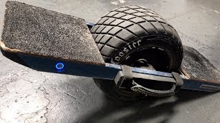 new MONSTER One Wheel Hoverboard MOD!!