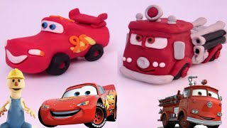 Download McQueen and Red - Disney Pixar Cars | PLAY DOH | PLAY with CLAY Mp3 and Videos