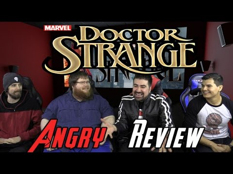 Doctor Strange Angry Movie Review