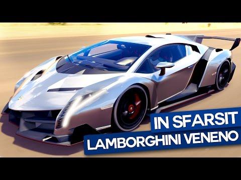 In sfarsit conduc un Lamborghini Veneno!