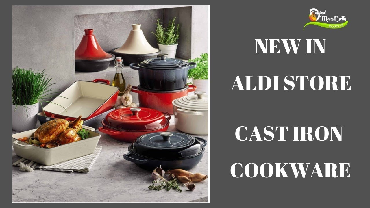 Aldi Saucepans Grab A Bargain From Aldi Cast Iron Cookware Just Like Le Creuset