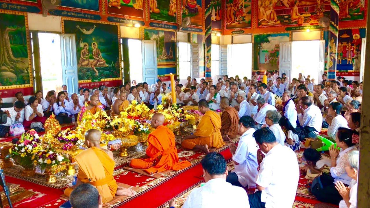 Buddhis Kamboja Merayakan Kathina 2564 EB
