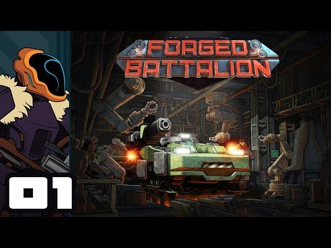 Let's Play Forged Battalion - PC Gameplay Part 1 - Mix & Match RTS