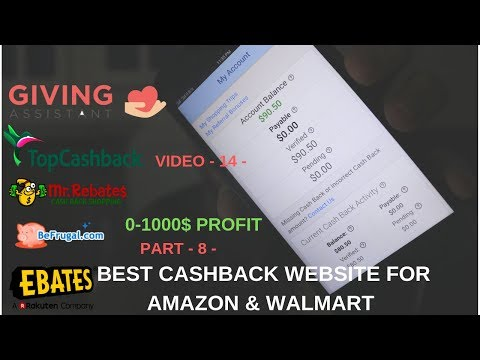 PART 8 - Cashback Websites & Auto Ordering - Best Cashback website For Amazon - Ebay Dropshipping