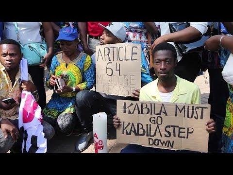 Johannesburg: Congolese community protests against Kabila [No Comment]