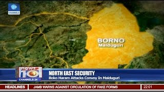 News@10: Boko Haram Attacks Convoy In Maiduguri 29/01/17 Pt 1