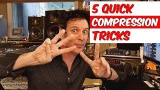 5 Quick Compression Mixing Tricks - Warren Huart: Produce Like A Pro