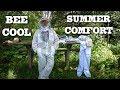 Guardian Bee Apparel Ventelated Beekeeping Suit VS Non-Vented Bee Suit Hot Days Cool Beekeeper Suit