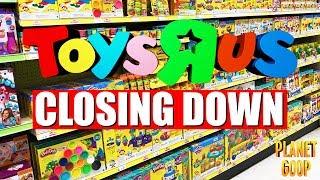 Last Toys R Us visit - Planet Goop Youtube Kids