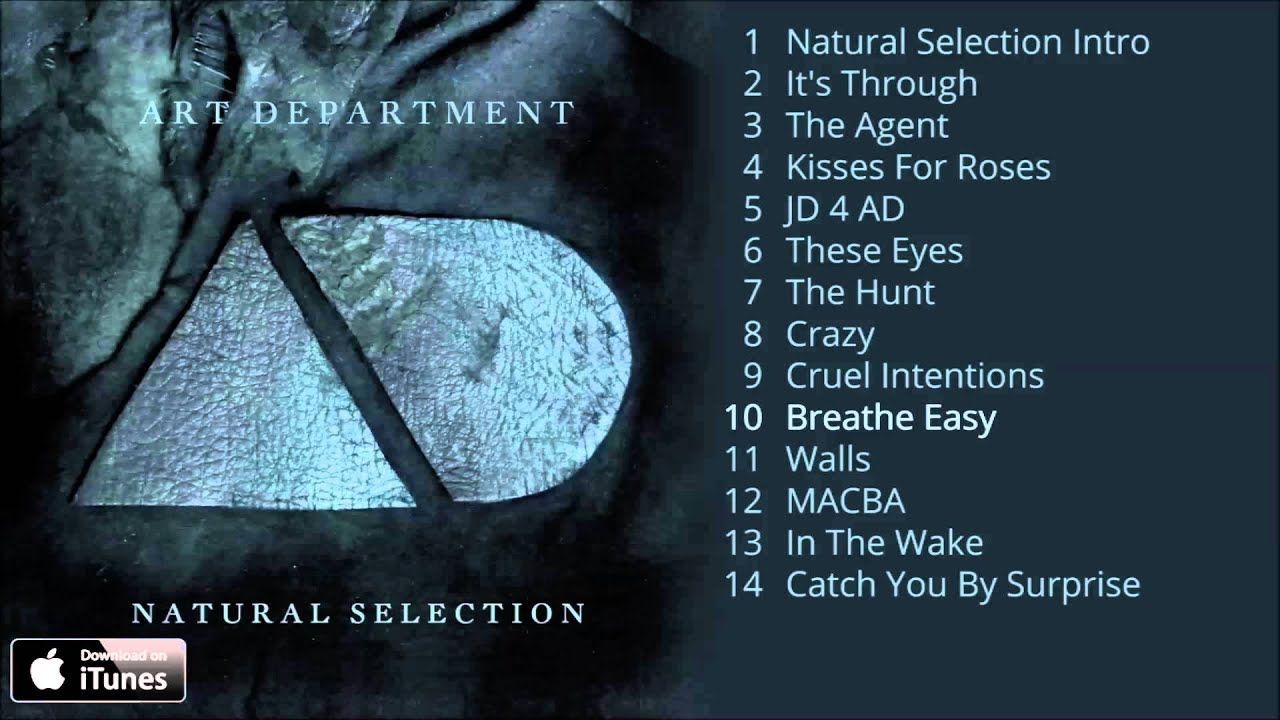 Art Department - Natural Selection Album Pre-Listen [Official]