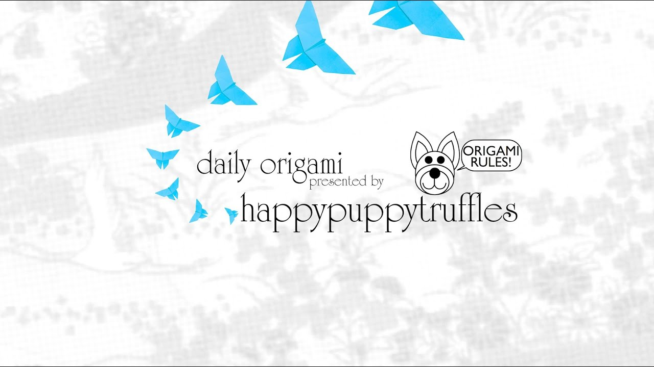 Introducing happypuppytruffles Daily Origami - YouTube - photo#3