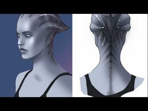 Mass Effect - Creating the Asari - Game Informer