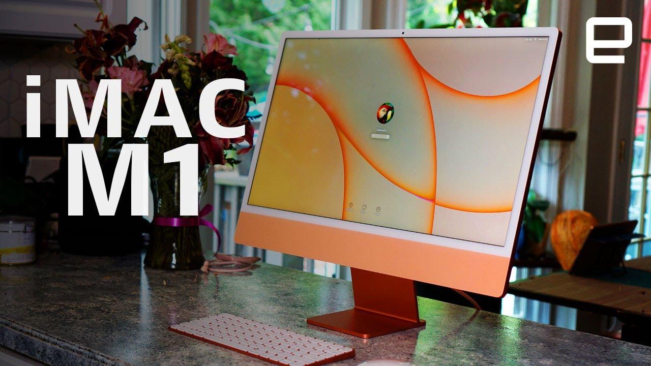 Download Apple iMac M1 review: The ideal portable desktop