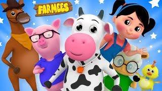 Farmees Cartoon Videos for Children   Kindergarten Nursery Rhymes for Kids