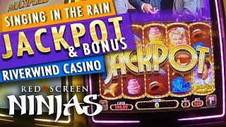 VGT SLOTS  - SINGING IN THE RAIN SLOT MACHINE JACKPOT AT CHOCTAW CASINO