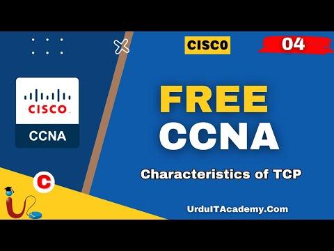 FREE URDU CCNA Lecture 4 (Characteristics of TCP)