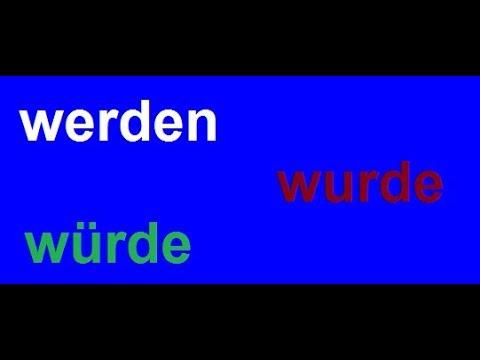 Download تعلم اللغة الألمانية مع دجلة 93.. werden wurde würde