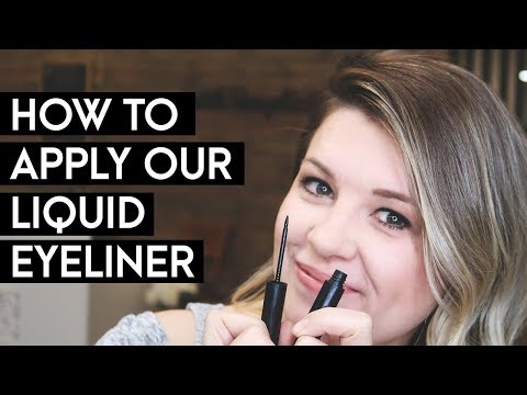 NEW PRODUCT! ORGANIC LIQUID EYELINER | withSimplicity