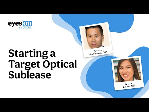 Live Webinar with 2 Optometrists who Started a Target Optical Sublease
