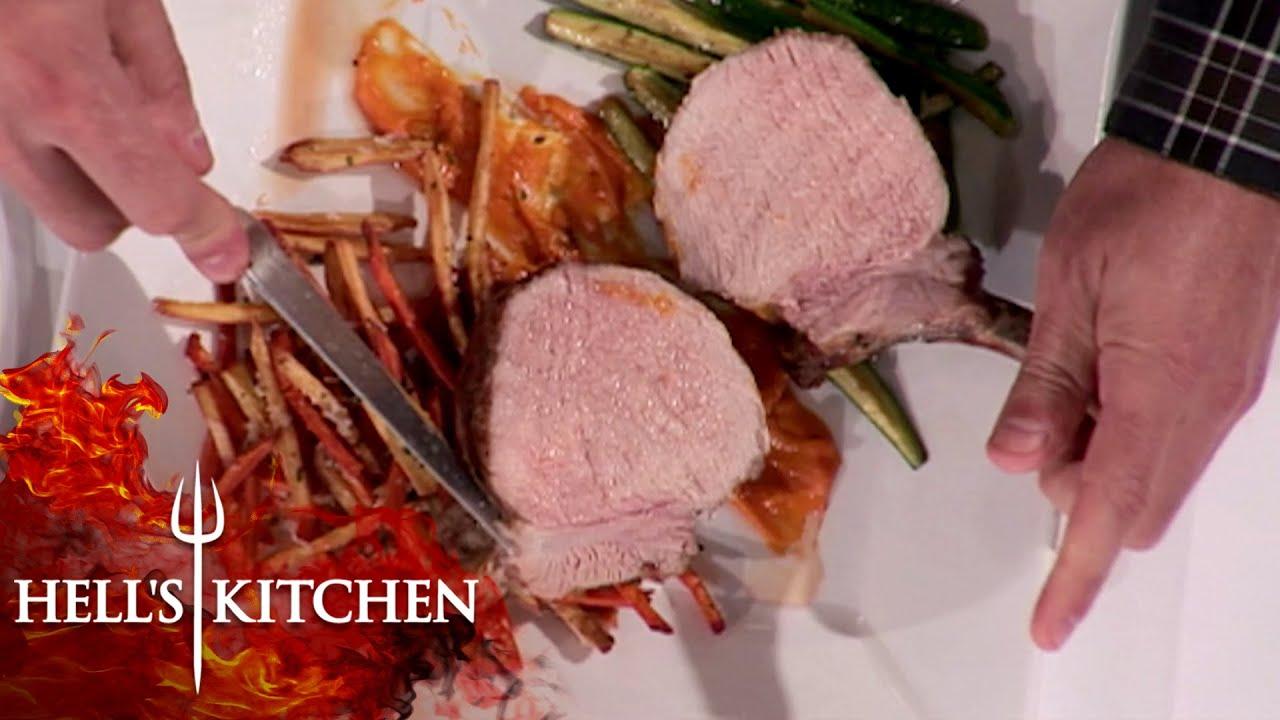Gordon Ramsay Stunned By Pork Chop | Hell's Kitchen