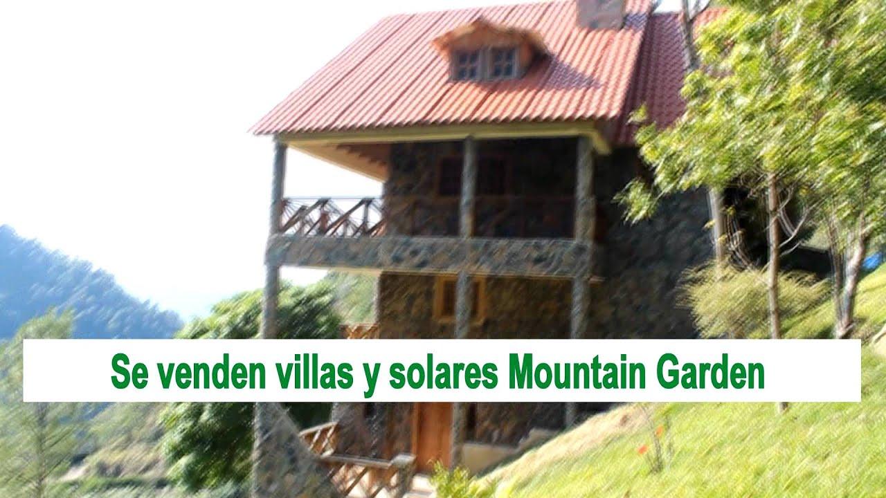 Se venden villas y solares mountain garden jarabacoa youtube for Villas en jarabacoa