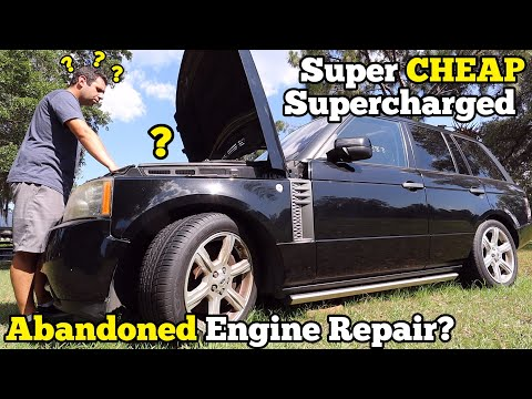 I Bought A Supercharged Range Rover Super CHEAP After Someone FAILED To Fix It!
