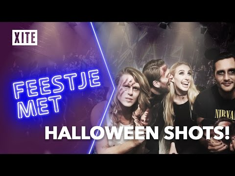 CRAZY HALLOWEEN PARTY MET KRIS KROSS AMSTERDAM! | Feestje Met #2 Amsterdam Halloween Super Heroes