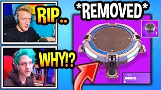 streamers-react-to-launch-pad-being-removed-from-fortnite-rip-fortnite-moments