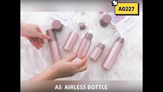 A0227 Airless Pump Bottle 30ml…