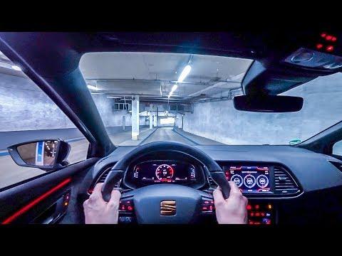 2019 Seat Leon Cupra 290PS NIGHT POV DRIVE Onboard (60FPS)