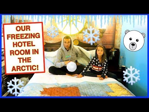 OUR FREEZING HOTEL ROOM IN THE ARCTIC!