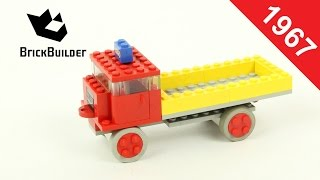 Lego - Back To History - 331 Dump Truck - 1967 - BrickBuilder