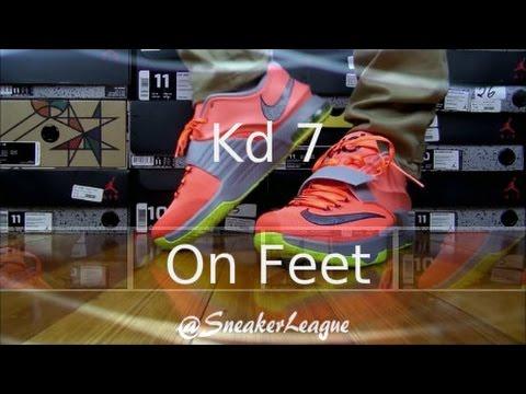 Kd 7 35k Degrees On Feet Nike Air KD 7 &...