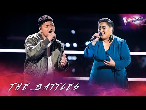 Chang Po Ching v Aunty Ora 'With A Little Help From My Friends' | The Voice Australia 2018