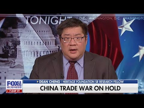 """Dean Cheng: Trump's China Trade Agreement Offers """"Some Hope of Moving Things Forward"""""""