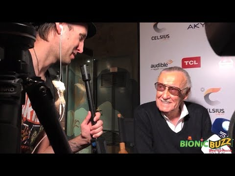 Stan Lee Interview at his Hand Print Ceremony at TCL Chinese Theatre