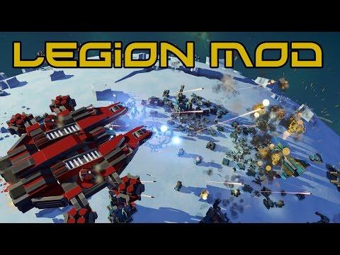 Planetary Annihilation Legion Mod - 100+ New Units!!!