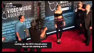 Download Miley Cyrus - VMA'S 2013 Red Carpet (Shoot) MP3 song and Music Video